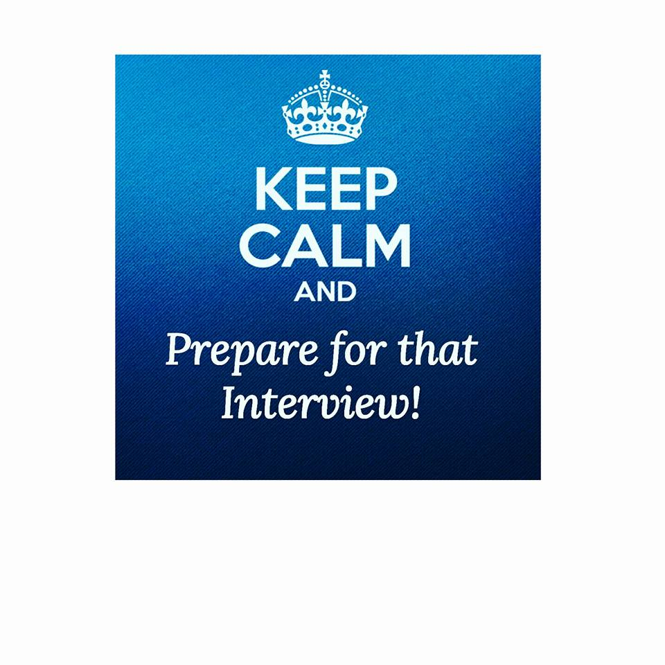 How well do you prepare for an Interview?
