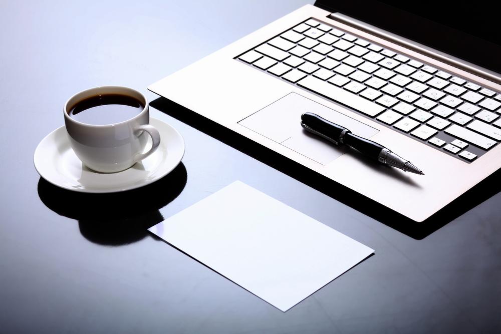 Laptop Job Application Scene